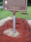 10-1 Bentonville Anti-Horse Thief Society Marker