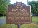 5-1 Adams County Mineral Springs
