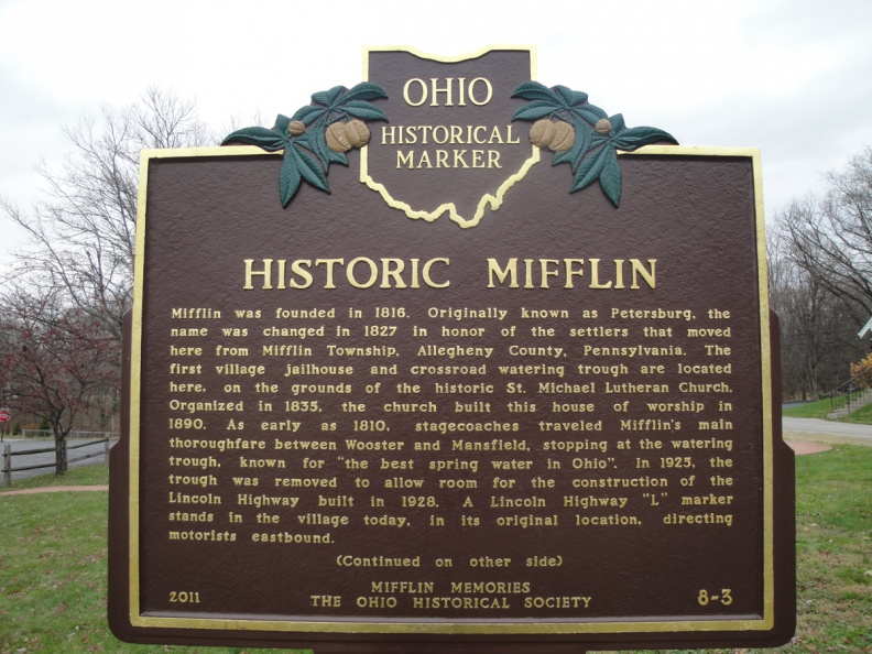 8-3 Historic Mifflin - Front