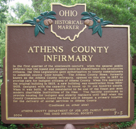 7-5 Athens County Infirmary