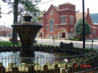 15-7 Park Fountain and Methodist Church