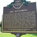 10-8 Front of Gist Settlement marker