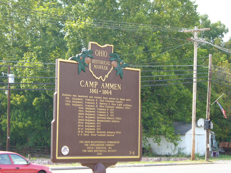 7-8 Camp Ammen side of marker