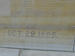 22-9 Courthouse cornerstone