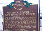 28-9 Abraham Lincoln's 1859 Hamilton Speech