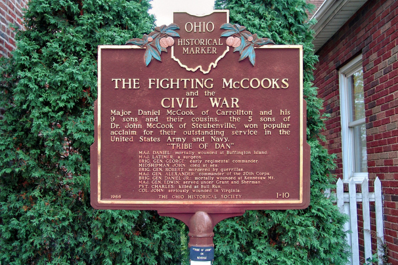 1-10 The Fighting McCooks and the Civil War (Side A Tribe of Dan)
