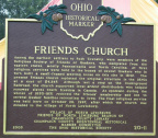 20-11 Friends Church - Side A of marker