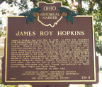 23-11 James Roy Hopkins marker, side A