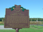 28-11 Lincoln Funeral Train marker