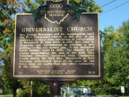 31-11 Universalist Church marker