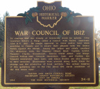 34-11 War Council of 1812 marker