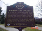 5-14 Wilmington College Marker