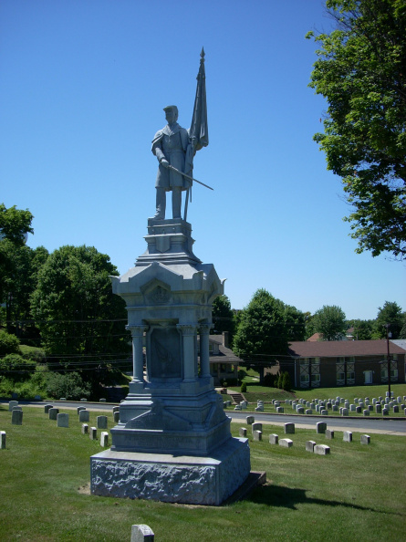 12-15 Civil War Memorial at Cemetary. Spoke with person at ce=metary the marker has been removed to prtect it during construction 6-07