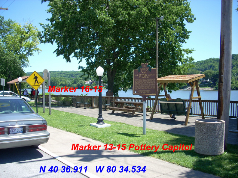 13-15 16-15 is in the background nice park great stop Cold drinks good view of the river