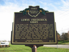105-18 Lewis Frederick Urry Marker