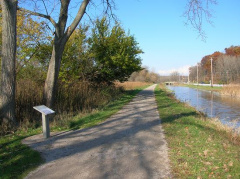 11-18 #2- On The Towpath