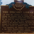 12-18 The Ox Cart Library Marker
