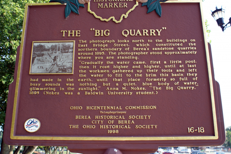16-18 The Big Quarry Marker