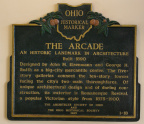 2-18 The Arcade historical marker