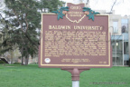 61-18 Baldwin University Marker