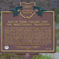 80-18 80-18 South Park Village and  the Whittlesey Tradition