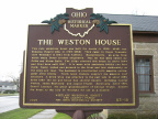 83-18 Weston House Marker