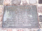 5-19 Close Up of the Fort Jefferson Memorial Plaque