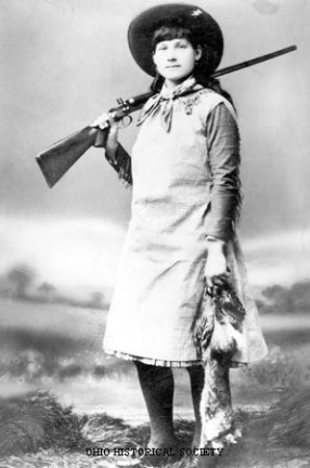 7-19 Annie Oakley with Rabbit