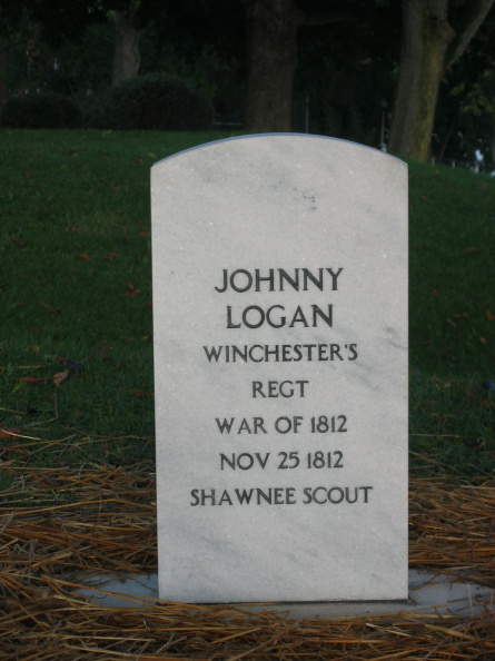 Johnny Logan grave marker