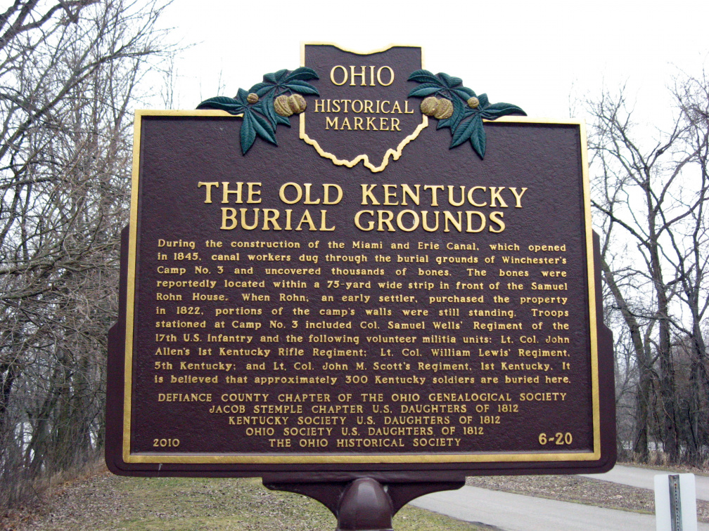 6-20 Old Kentucky Burial Grounds Marker 3-2-13