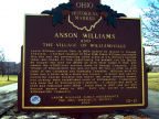 10-21 Anson Williams and The Village of Williamsville Marker