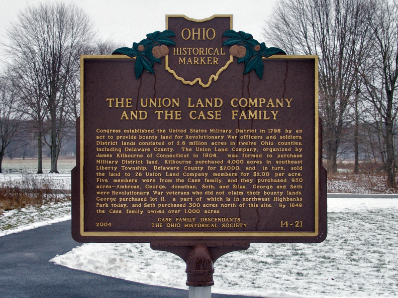 14-21 The Union Land Company and the Case Family (Side A)