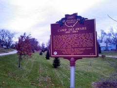 2-21 #2-21 Camp Delaware 1862-1864 A