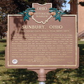 "9-21 Sunbury, Ohio ""An Ohio Stagecoach Town from 1820-1873"""