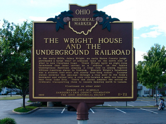 11-22 The Wright House and The Underground Railroad (side A)
