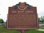 11-22 Old Main Street Marker
