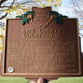 23-22 Erie County Courthouse Marker