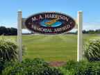 24-22 M.A. Harrison Memorial Airfield - Sign