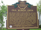 25-22 Erie County Old Woman Creek Marker