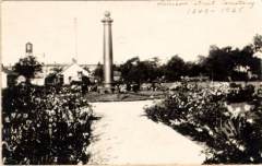 3-22 Cholera Cemetery Monument, 1925