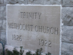 6-22 Trinity Methodist Church Cornerstone