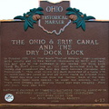 4-23 The Ohio & Erie Canal and the dry dock lock