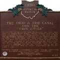 "4-23 The Ohio & Erie Canal and the ""Twin Cities"""