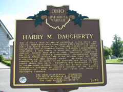 2-24 Harry M. Daugherty