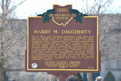 2-24 24-2 Harry M. Daugherty - Washington Courthouse Cemetery 3-11-14