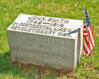 16-25 Grave Marker of John Smith (Revolutionary War)