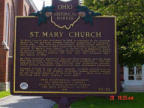 28-25 St Mary Church Marker