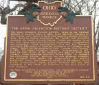 56-25 The Upper Arlington Historic District Marker