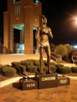 69-25 #69-25 Jesse Owens Statue original marker placement is now this statue
