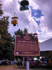 72-25 The Ohio State Fair Marker with sky glider